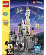 Lego Shop At Home Collectible Catalog Fall 2016 Disney Castle Cover NEW - $5.95