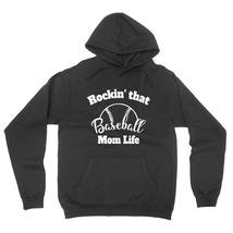 Rocking that baseball mom life, gift for mom, mommy  hoodie - $32.50