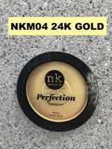 NICKA K NEW YORK PERFECTION HIGHLITER COLOR: NKM04 24K GOLD - $2.76
