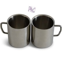 Rastogi Handicrafts Coffee Mug, Desk Mug, Double Insulated Drinking Cups... - $34.16
