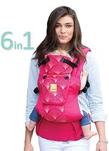 lillebaby Complete Embossed 6-in-1 Baby Carrier, Coral - $78.89