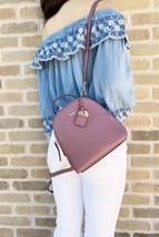Kate Spade Carter Street Mini Caden Backpack Crossbody Plum Berry - £206.54 GBP