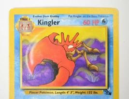 Pokemon Kingler 1995 Rare Collectors Card 38/62 - $25.94