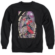 Batman - Harley First Adult Crewneck Sweatshirt Officially Licensed Apparel - $29.99+