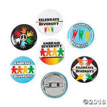 Mini Diversity Buttons - $7.74