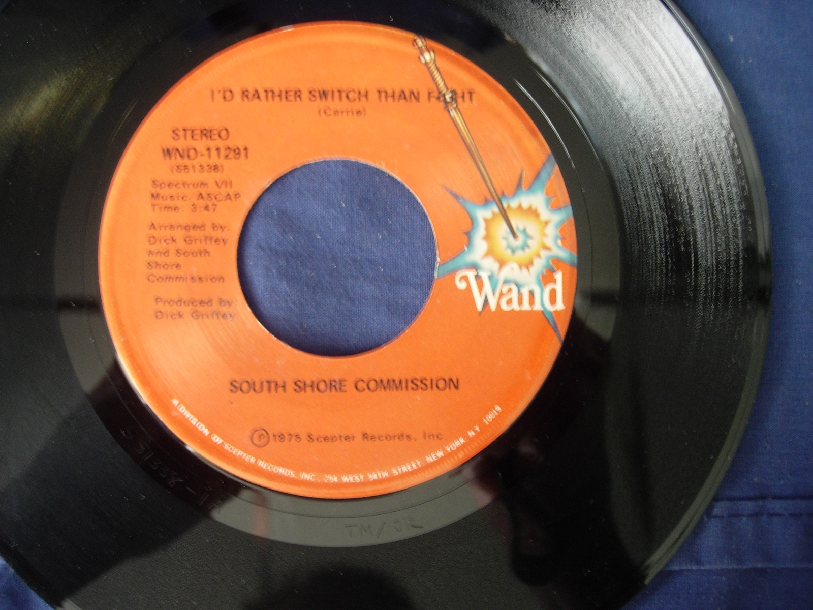 SOUTH SHORE COMMISSION - We're On the Right Track - Wand Records WND-11291