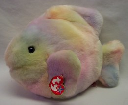 """TY Beanie Buddies CORAL THE COLORFUL FISH 11"""" Plush STUFFED ANIMAL Toy w... - $19.80"""