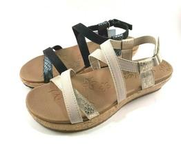 Skechers 32830 Luxe Foam Low Wedge Strappy Comfort Sandal Choose Sz/Color - $39.20