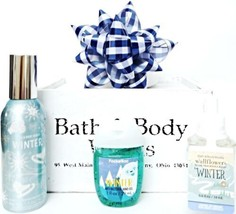 Bath and Body Works Winter Room Spray, Wallflower, Pocketbac & Blue Bow ... - $22.10