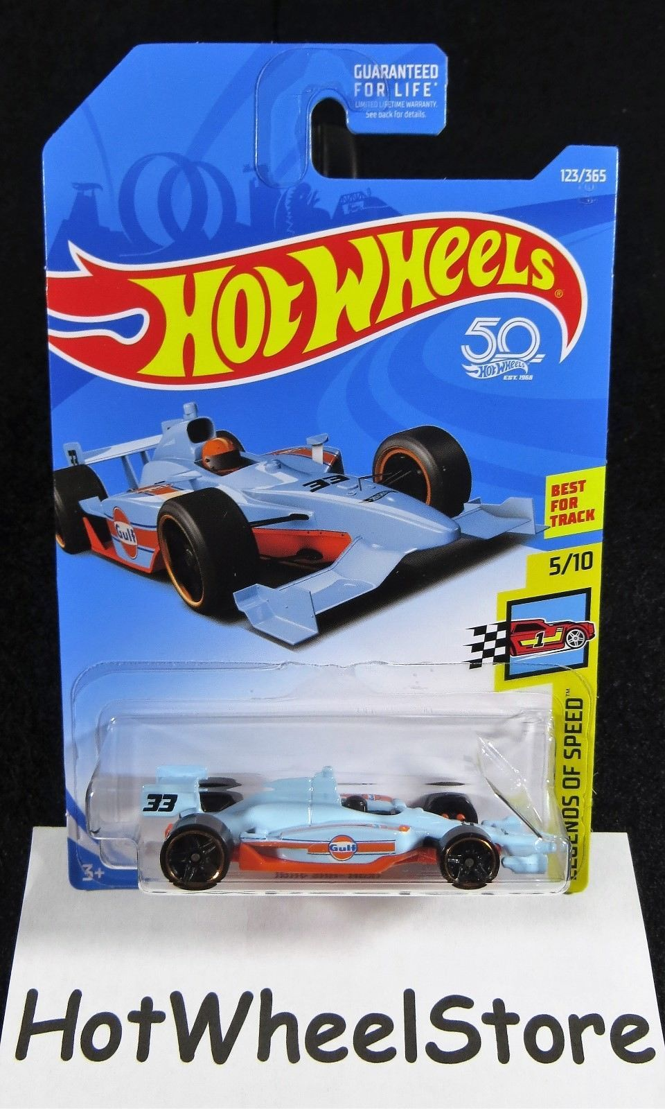 2018 Hot Wheels Indy 500 Oval Gulf Racing and 50 similar items