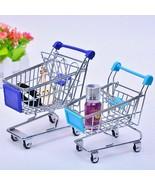 Mini Shopping Carts Store Basket Storage Perfume Lipstick Soap Holder Or... - $7.91+