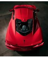 2020 CHEVROLET CORVETTE ENGINE (TOP)  24X36 inch poster, sports car, - $18.99