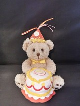 Build a Bear Workshop Birthday Cake Bear McDonald's Plush - $5.93