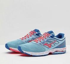 Mizuno Women's Wave Shadow Running Shoes, Topaz/Coral/Blue, 7 B(M) US - $45.99