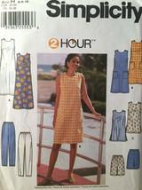 Summer Dress, Simplicity 7140, Sewing Pattern, 2 Hour Dress, Tunic, Shor... - $6.30+