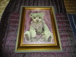 One & Only Bears Artist Michelle Lamb OOAK ECHO Bear Photo Art Card Fram... - $64.60