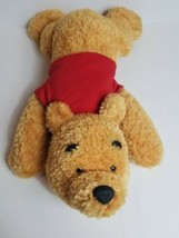 """Disney Store Exclusive Winnie The Pooh FLT 15"""" Laying Down Red Sweater P... - $34.29"""