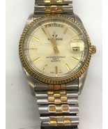 Waltham Watch Water Resistant 100 FT Quartz XKE 690T 012 6M55 Sold not working - $23.36