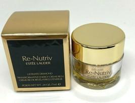 Estee Lauder RE-NUTRIV Ultimate Diamond Transformative Energy Creme Rich... - $25.21