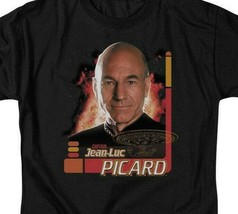 Star Trek The Next Generation Capt Jean-Luc Picard graphic t-shirt CBS615 image 2