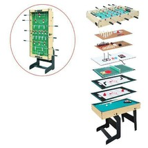 Airzone 16-in-1 Folding Junior Multi Game Table with Accessories New - $124.73