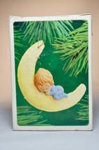 Hallmark - Betsey Clark - Baby Sleeping on Half Moon 1983 - Classic Ornament - $8.10