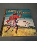 a Little Golden Book~ David and Goliath Third Printing 1976 #110 - $5.93