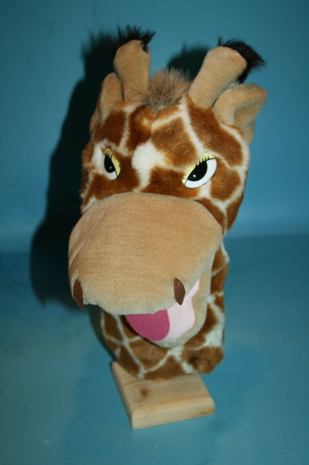 "Primary image for Aurora GIRAFFE 11"" Hand Puppet Soft Toy Stuffed Zoo Animal Plush Pretend Play"