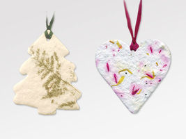 20 Blooming Flower Remembrance Ornaments for Funerals, Many Shapes Available image 8