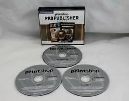 The Print Shop Pro Publisher Version 20 Deluxe Printshop Windows 98/XP/M... - $34.65