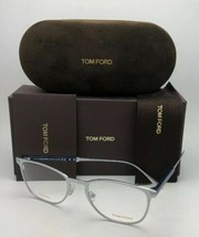 Neuf Tom Ford Lunettes Tf 5483 018 52-19 145 Rhodium Silver-Blue Titane Cadre