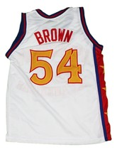 Kwame Brown #54 McDonald's All American New Men Basketball Jersey White Any Size image 4