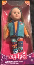 "My Life As Mini Poseable Outdoorsy Girl Doll Red Hair Ponytails Vest New 7"" - $19.99"