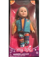 """My Life As Mini Poseable Outdoorsy Girl Doll Red Hair Ponytails Vest New 7"""" - $19.79"""
