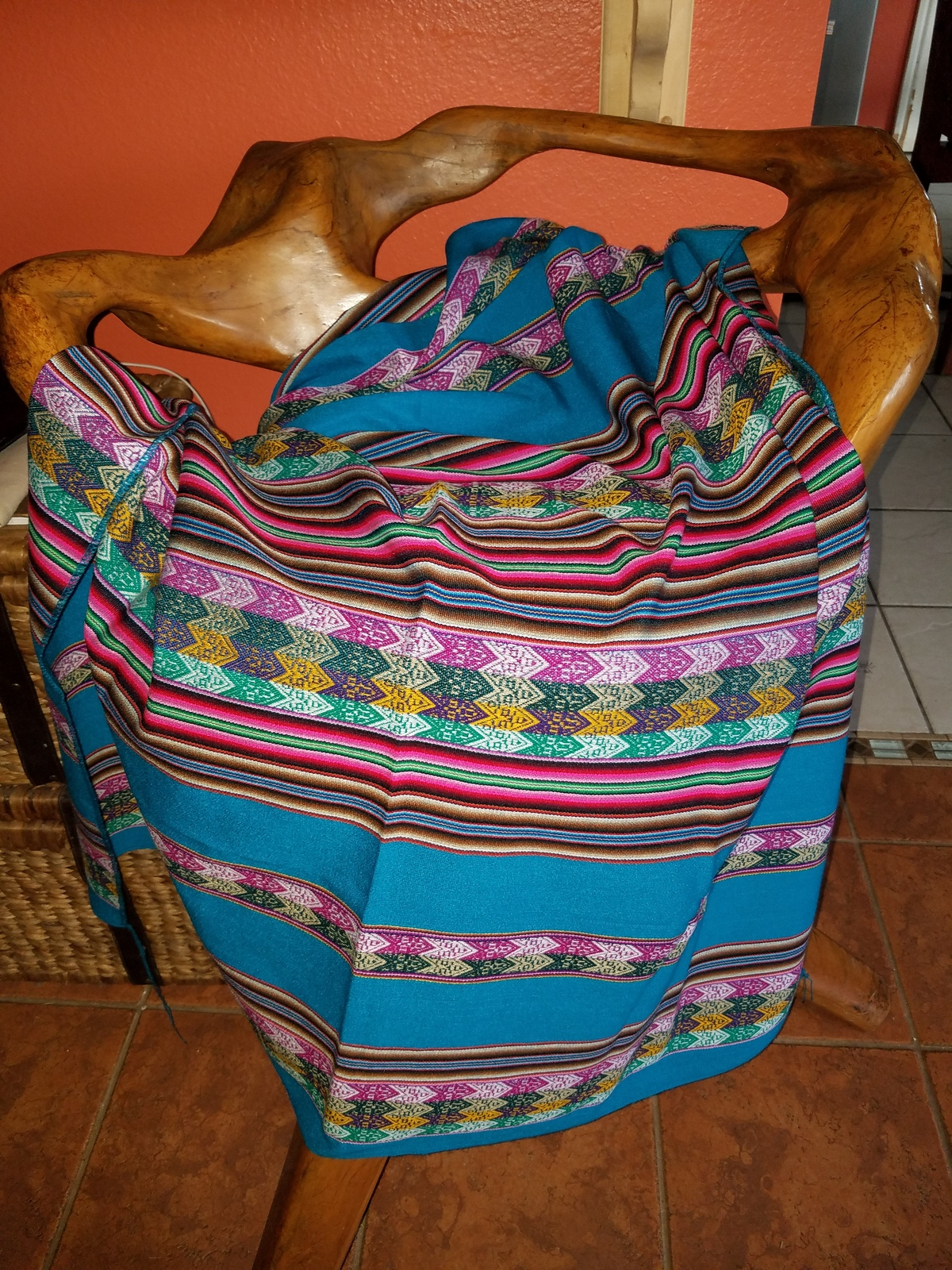 Blanket Andes Tribal style