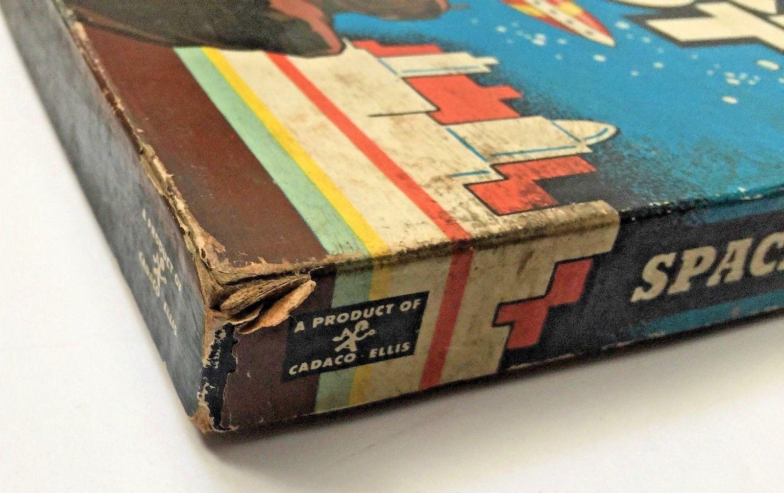 VTG Vintage 1951 Space Pilot by Cadaco Ellis Board Game HARD TO FIND HTF image 7