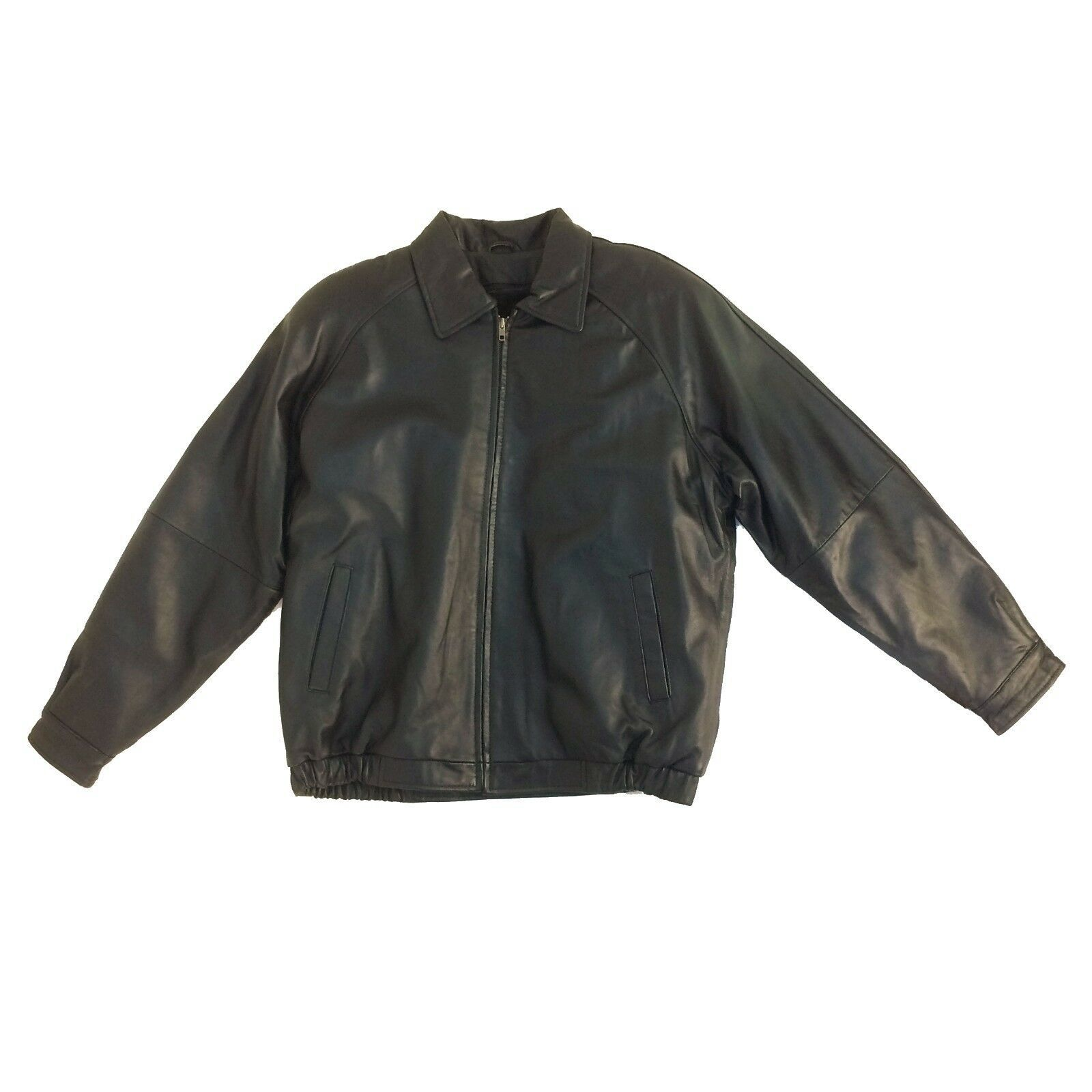 Assorted Brands ,Vintage, Men's Genuine Leather Bomber (Short) Jacket, Group-2 image 4