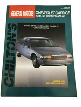 1990-1993 CHEVROLET CAPRICE SHOP SERVICE MANUAL CHILTON'S REPAIR 8421 - $24.87