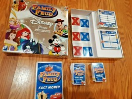 Disney Edition Family Feud Game By Cardinal 2016 Silver Box - $17.81