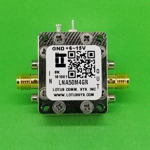 Broadband Low Noise Amplifier 0.8dB NF 50MHz to 4GHz 18dB Gain with LDO - $121.54