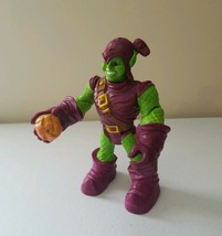 2005 Marvel Tpy Biz Inc Green Goblin Rescue Heroes Style Action Figure R... - $17.59
