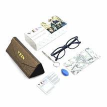 Blue Light Blocking Glasses, Photochromic Brown Sunglasses, Anti UV, Anti Glare  image 2