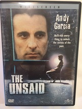 The Unsaid (2001) DVD. Region 1. Rated R, 110 minutes. Color.  - $12.00