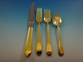 Salem Gold by Tiffany and Co. Sterling Silver Flatware Set For 6 Service Vermeil - $4,018.50