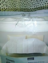 "White Solid Down Alternative Comforter Full/Queen Made by Design 90"" x 94"" SEAL  image 5"