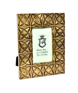 Decorative 4X6 Picture Frames Made of Solid Wood Brass FTD for Table Top... - $28.95