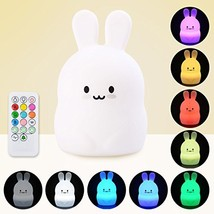 Baby LED Night Light, Remote Control + Sensor Tap Control, 4 Modes and 9... - €17,02 EUR