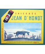 JEAN D'HONDT Chicory Medication Wild West - 3x 1960 Ink Blotters Adverti... - $5.39