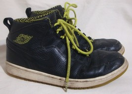 NIKE Air Jordan Green Venom Sneakers Retro 94 Athletic Shoes Black Lace ... - $59.39