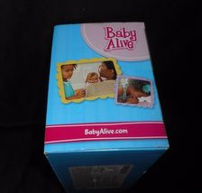 BABY ALIVE LUV N SNUGGLE HASBRO 2015 AFRICAN AMERICAN DOLL W/ BOTTLE IN BOX image 4